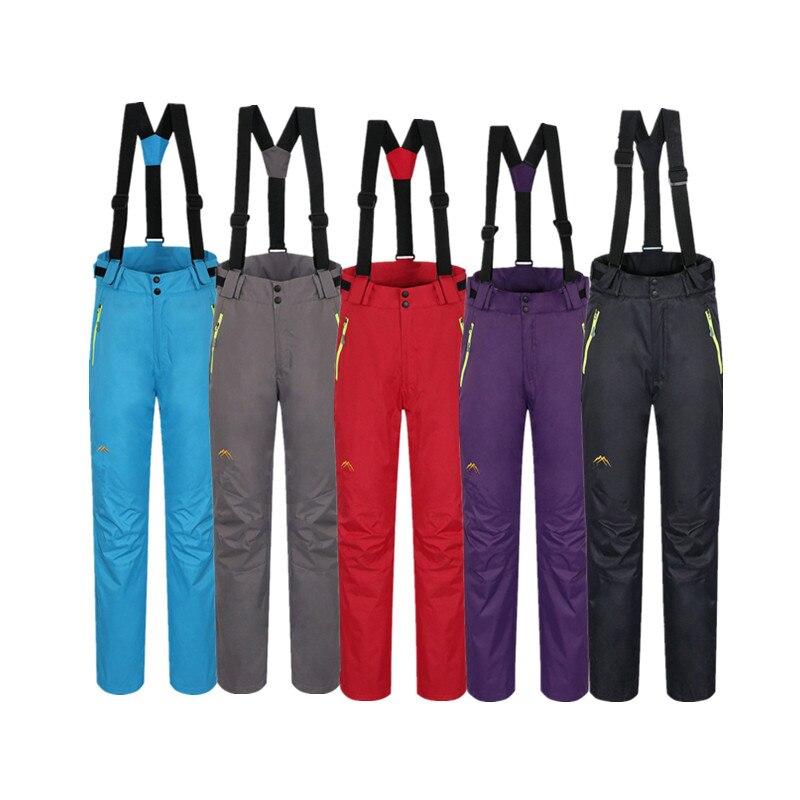 Nouveau pantalon de snowboard imperméable hiver combinaison de Ski femmes voyage Softshell pantalons de randonnée en plein air chaud Camping pantalon de Ski