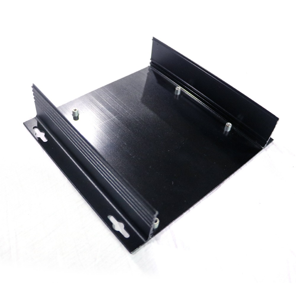 Couverture en aluminium plaques en métal boîtier boîtier 2mm épaisseur service personnalisé bricolage nouveau prix de gros