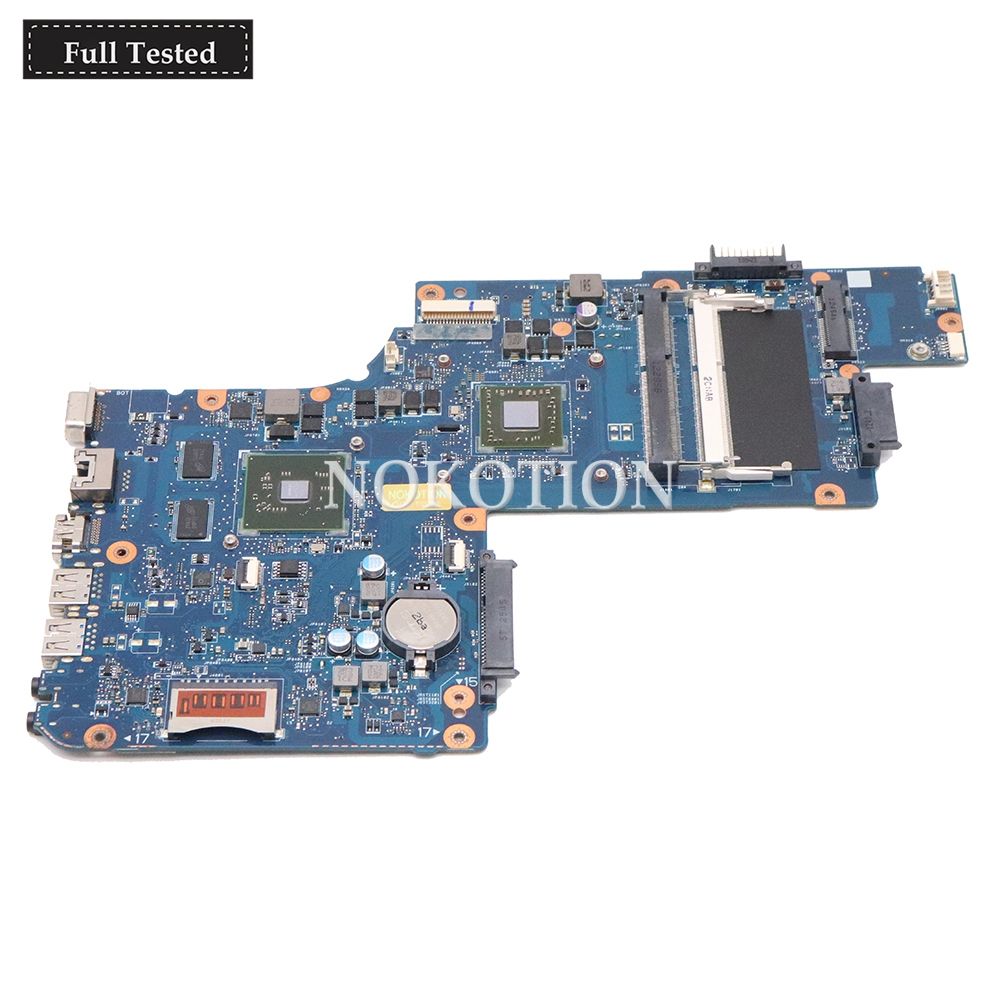 NOKOTION PT10AN DSC MB REV 2.1 laptop motherboard for Toshiba Satellite C50 C50D CPU 216-0841000 DDR3 Mainboard DDR3NOKOTION PT10AN DSC MB REV 2.1 laptop motherboard for Toshiba Satellite C50 C50D CPU 216-0841000 DDR3 Mainboard DDR3