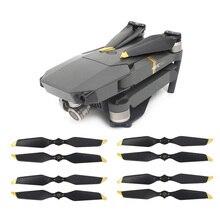 8 шт. 8331 малошумный Пропеллер для DJI Mavic PRO Platinum Drone шумоподавляющее лезвие запасные части запасные аксессуары