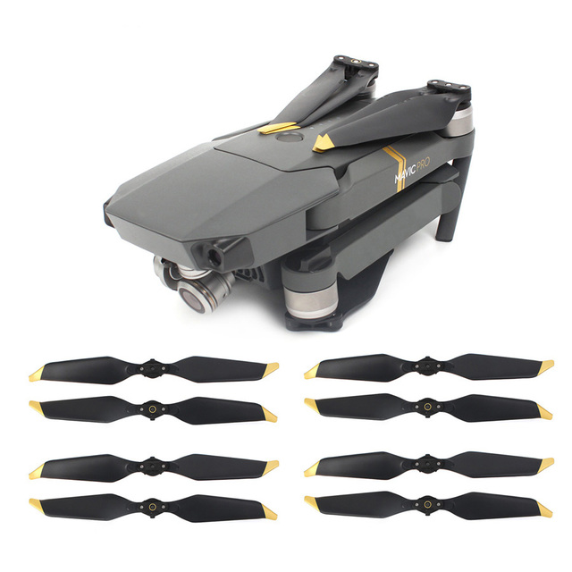 8pcs 8331 Low Noise Propeller for DJI Mavic PRO Platinum Drone Noise Reduction Blade Prop Spare Parts Replacement Accessories 1