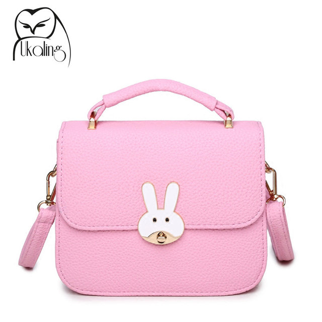 UKQLING Candy Color Cute Bag Ladies Corssobody