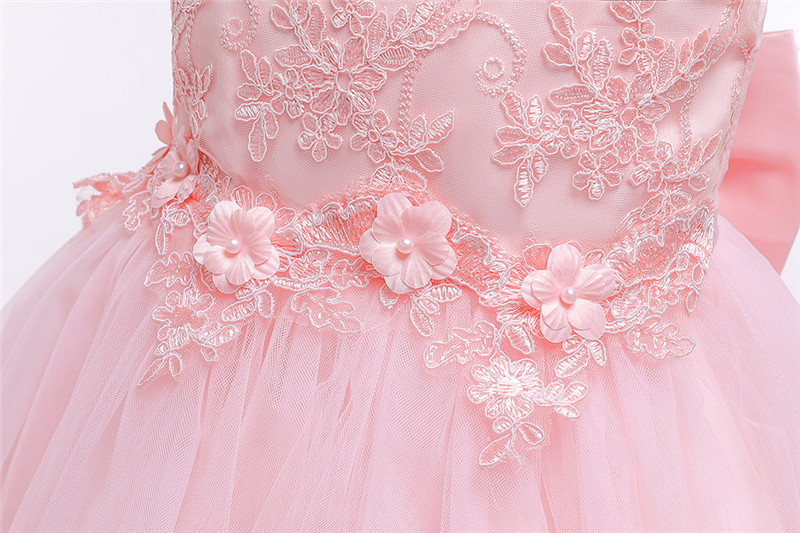 HTB1whXOe8Kw3KVjSZTEq6AuRpXac - Kids Princess Dresses For Girls Clothing Flower Party Girls Dress Elegant Wedding Dress For Girl Clothes 3 4 6 8 10 12 14 Years