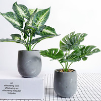 Simulation Potted Plant Nordic Wind Artificial Plant Ornament Household Artificial Decoration Flower Festival Party Supplies