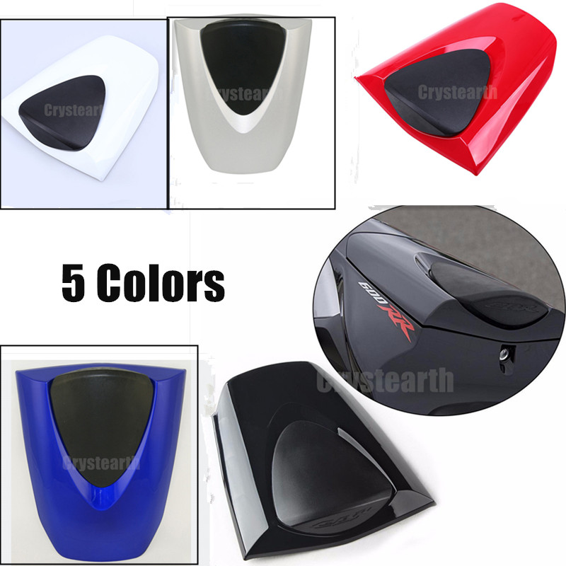Motorcycle Rear Seat Cover Tail Section Fairing Cowl For 2007-2012 Honda CBR600RR 2008 2009 2010 2011 CBR 600RR 600 RR 07 08 09 motorcycle front upper fairing headlight holder brackets for honda cbr600rr cbr600 rr cbr 600 rr 2007 2008 2009 2010 2011 2012