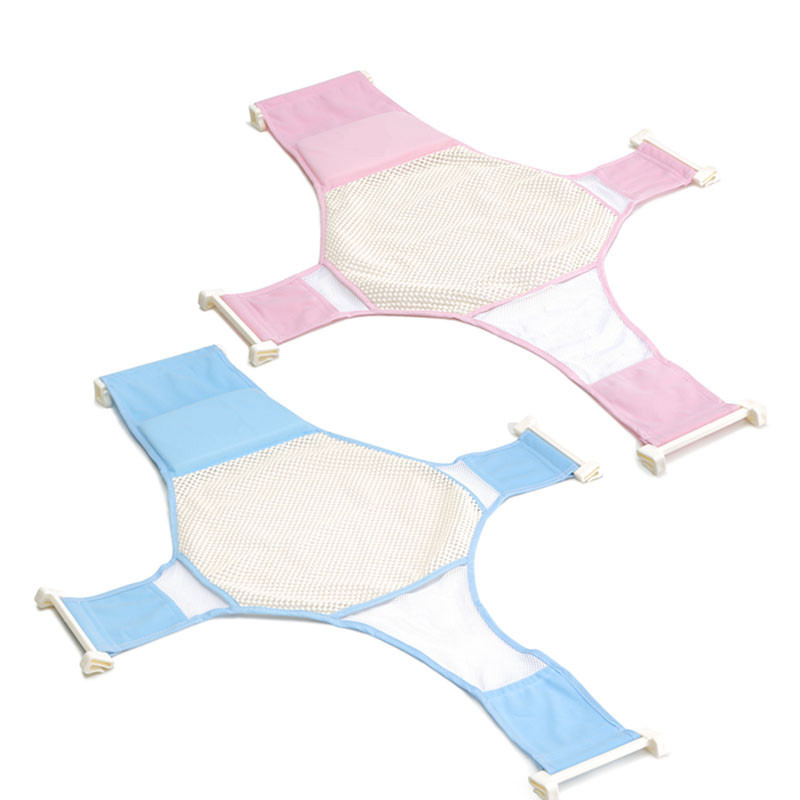 Newborn Non slip Baby Bath Tub Seat Baby Shower Bed Bathing Infant ...
