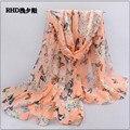 160 * 70 см женщины зима шарф шелк шарф горошек бархат шарф шифон богема шарф