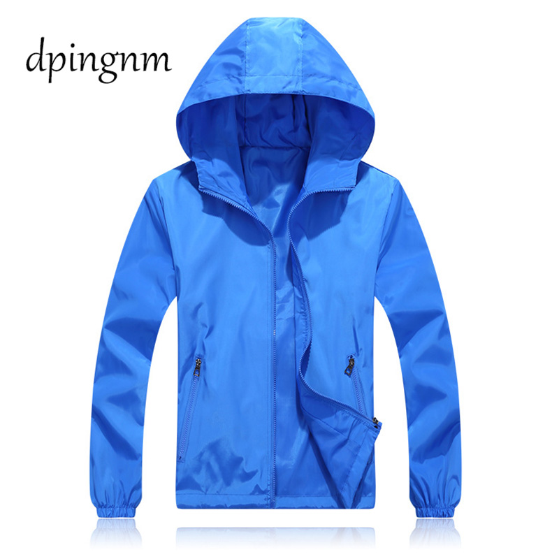 Women Windbreaker   Jacket   Female Solid color Patchwork Hooded   Jacket     Basic     Jackets   Coats For Women