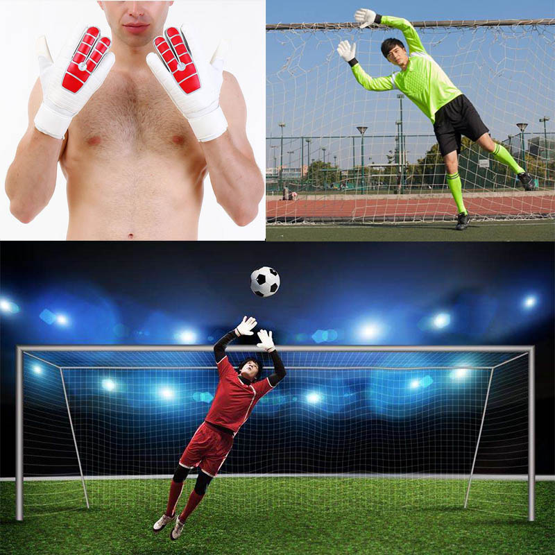 Hot Soccer Goalkeepers Latex Slip Gloves To Help You Make The Toughest Saves MCK99
