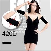 Высокая эластичность, стройнее, Корректирующее белье, хлопок, Корректирующее белье, пояс для женщин, девушек, девушек, стройнящие руки, свободный размер T079K01