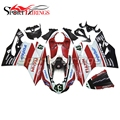 Complete Injection Fairings For DUCATI 899 1199 Year 2012 2013 ABS Motorcycle Fairing Kit Bodywork Cowlings Cowlings Red White