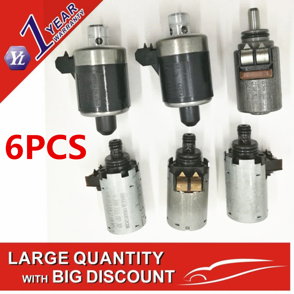 OEM 722 6 722 605 722 620 633 5 Speed Automatic Transmission Shift Solenoid Set For