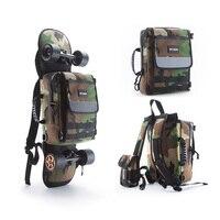 enSkate Skateboard Longboard Electric Skateboard Multi functional Carry Bag Shoulder Bag Handbag Backpack Notebook Bag