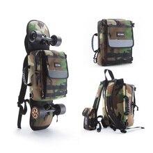 enSkate Skateboard Longboard Electric Skateboard Multi-functional Carry Bag Shoulder Bag Handbag Backpack Notebook Bag