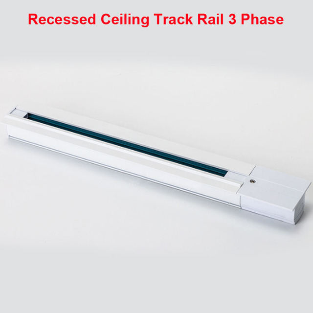 1m lighting track rail 3 phase 3 circuit 4 wires aluminium track 1m lighting track rail 3 phase 3 circuit 4 wires aluminium track light system recessed ceiling mozeypictures