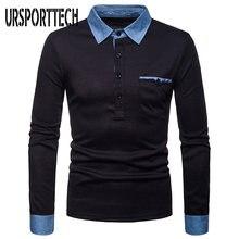 Ursporttech Мужская рубашка поло весна осень 2020 Повседневная