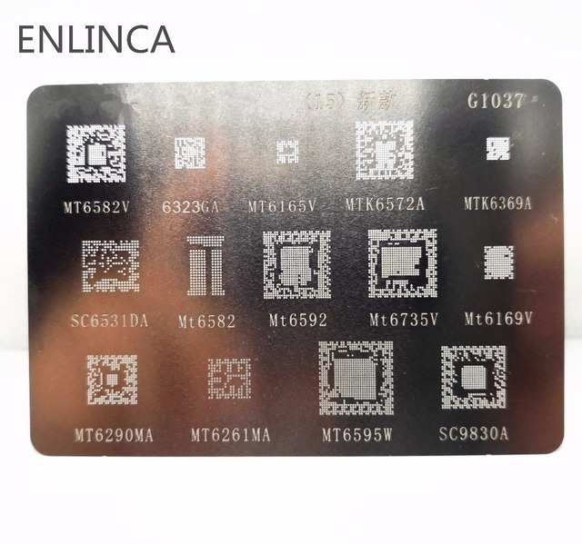1-5pcs BGA reballing reball stencil for MTK xiaomi series MTK6369 MT6582 MT6572A MT6592V MT6323GA MT6169V MT6735V MT6339A