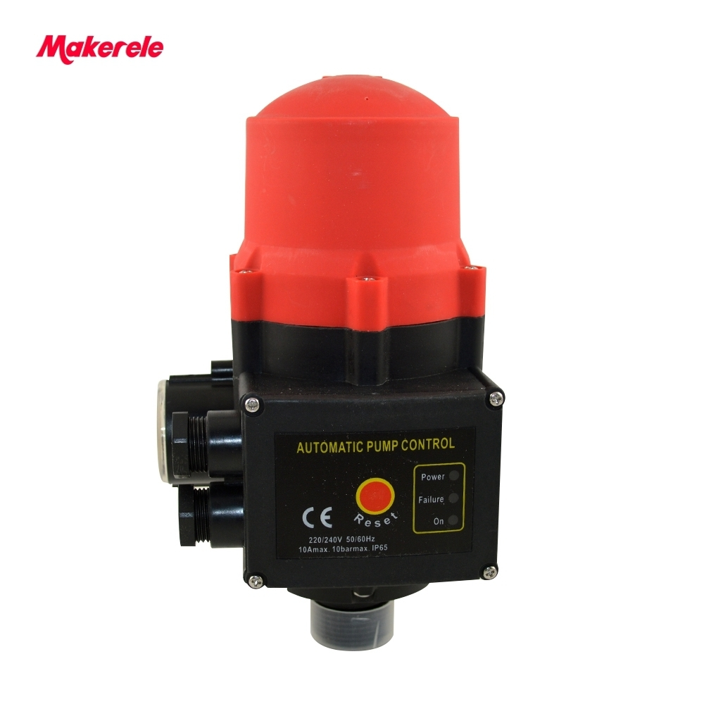 Automatic Electronic Adjusting Water Pump Pressure Switch Connection Thread G1 IP65 MK-WPPS10 From Makerele hot sale cheap price mk wpps10 adjusting water pump pressure switch from china factory