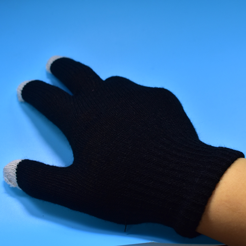 FGHGF Working Gloves Winter Safety Gloves Cashmere Gloves Casual Touch Screen Warm Knitted Mittens Solid Driving Touch Phone bluetooth wireless sport gloves earphones headsets headphones winter warm gloves touch screen handsfree calls mp3 play for phone