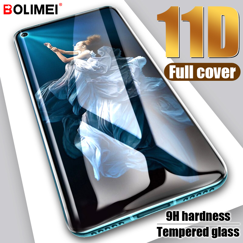 11D Full Cover Tempered Glass On The For Huawei Honor 20 Pro Glass Honor 20i Screen Protector For Honor 10 Lite Protective Film