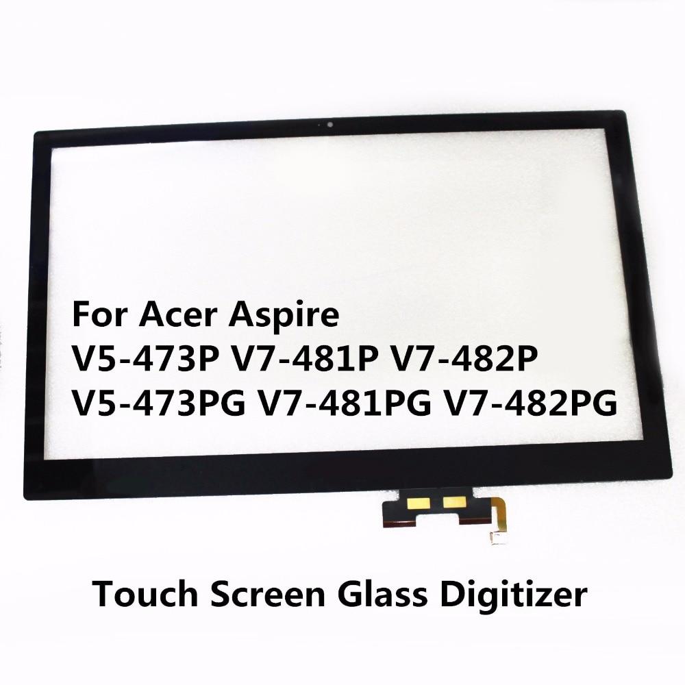 все цены на New Genuine 14'' Touch Screen Glass Digitizer + LCD Display Assembly For Acer Aspire V7-481P-6455 V7-481P-6607 E5-471P-537D онлайн