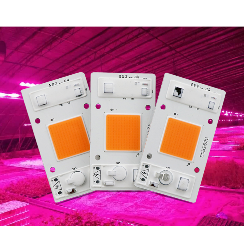 DIY DOB LED Grow Light Hydroponice AC 220V 20W 30W 50W Driverless LED Grow Chip Smart IC For Indoor Garden DIY Growth And Bloom цены