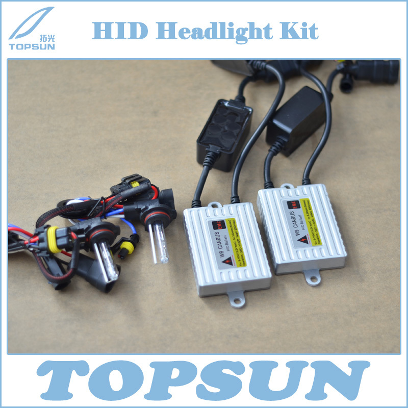 12V 35W 9012 (HIR2) HID Xenon Conversion Kits Includes CAN BUS Ballast and Bulbs For Ford Edge Toyota IQ Lexus GS350 Boss302 ecar e4035 can bus universal replacement 35w hid ballast dc 9 16v