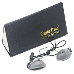 190nm 14000nm OD7 + laser ipl ochrona fotonowa okulary ze stali nierdzewnej w Oświetlenie sceniczne od Lampy i oświetlenie na