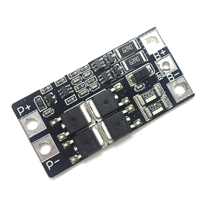 2S 3.7V 7.4V 8.4V Lithium Battery 2 Cell 18650 Protection Board with Balance 15A 20A 40A BMS Li-ion Lifepo4 Charger Fee Module(China)