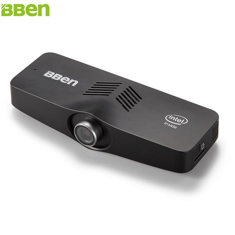 BBEN C100 Mini PC Windows 10 Intel Cherry Z8350 czterordzeniowy 2GB 4GB pamięć WiFi BT4.0 kamera PC minikomputer kieszonkowy PC Stick