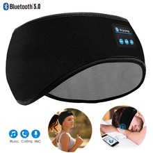 Headband Earphone Sleep-Mask JINSERTA Bluetooth 5.0 Stereo Sport Birthday-Gift