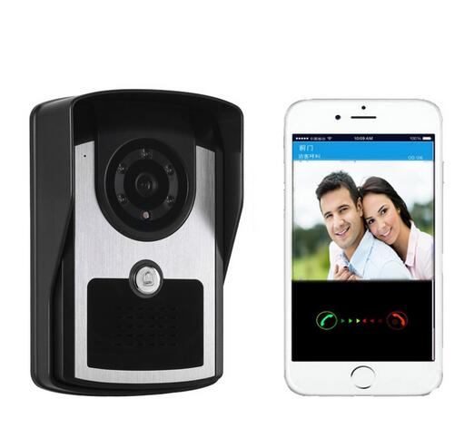 ФОТО Smart Wireless WiFi Doorbell with Camera Video Doorbell infrared night vision function Door intercom Support IOS Android APP