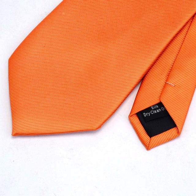 Corbata de Seda Unicolor