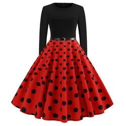 Women Vintage Dress JY13106 4