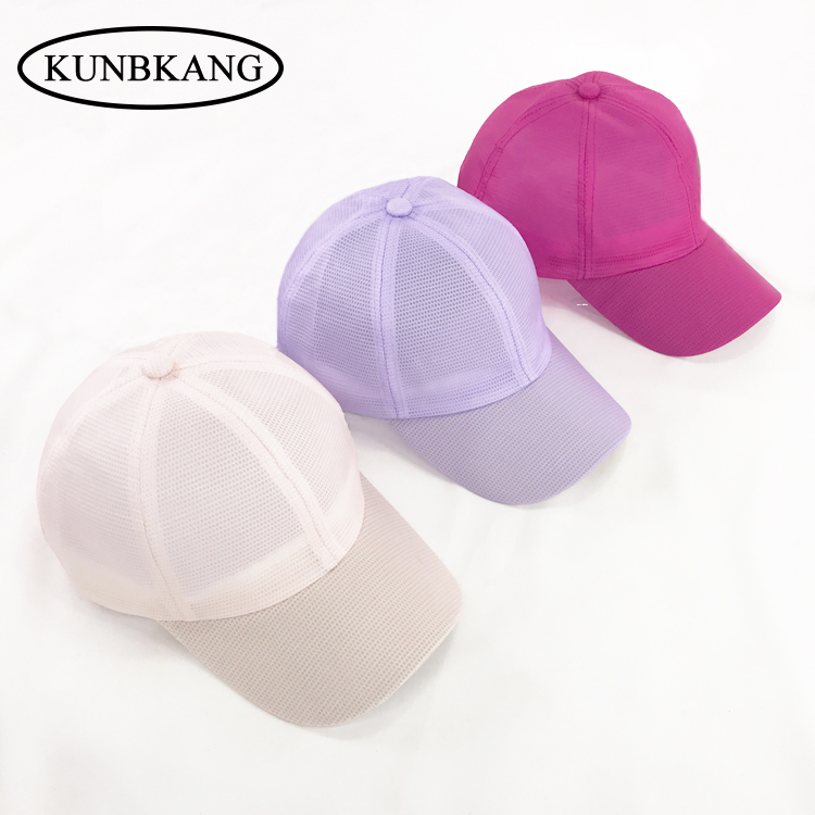 2017 Summer Fashion Unisex Breathable Sun Hat Casquette Solid Color Mesh Baseball Cap Hat Outdoor Men Women Snapback Peaked Caps 2017 spring and summer fashion girls clothing europe and the united states wind dress long sleeved lace princess peng peng dress