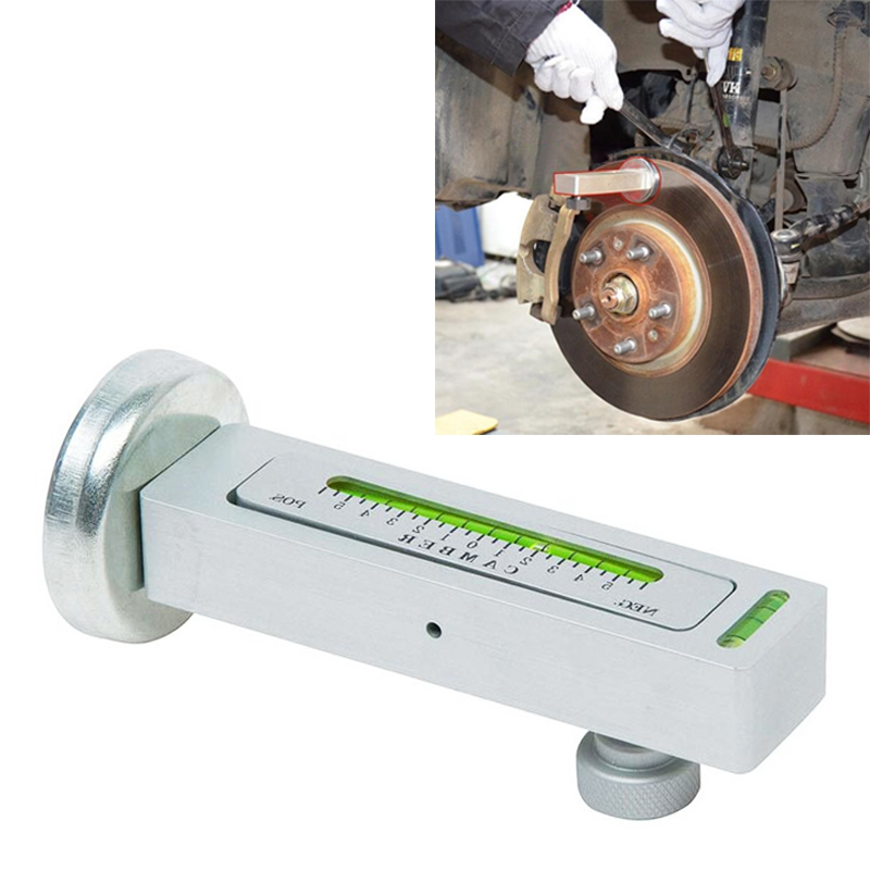 Car Four Wheel Positioner Adjustable Magnetic Camber Castor Strut Wheel Alignment Level Gauge Tire Repair Tool For Checking