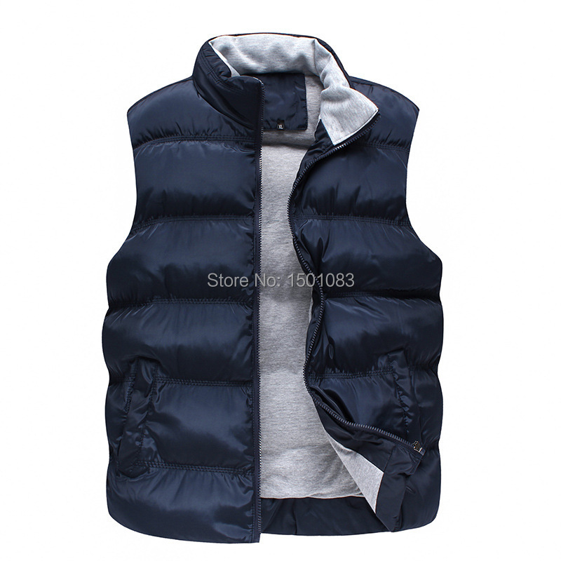Sale Autumn and Winter Gilet Men Padding Vest Hot Sell ...