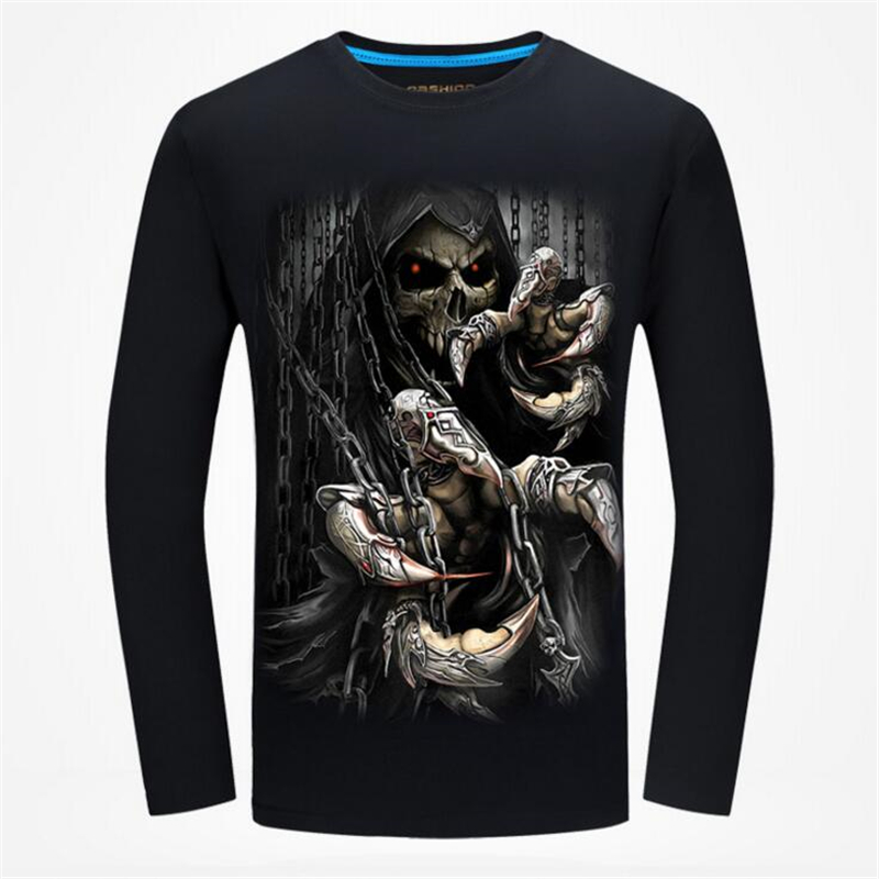 Men t shirt Tees Autumn Long sleeve Print European Street Casual Men's T Shirts Male TShirts Cotton T shirt Plus size 5XL 6XL-in T-Shirts from Men's Clothing on AliExpress - 11.11_Double 11_Singles' Day 1