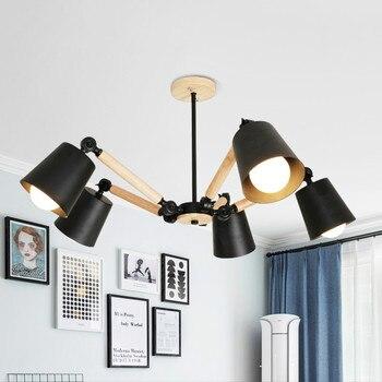 Wooden Modern LED ceiling Light For home Living Room Bedroom Ceiling Lamp Luminaire Lampara Techo