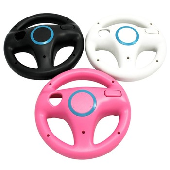 цена на Racing Game Steering Wheel For Nintendo For Wii Controller Direction Manipulate Wheel Remote Controller Protective Case