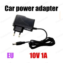 New Replacement EU for DC 10V 1A AC AdapterCharger Power Supply free shipping