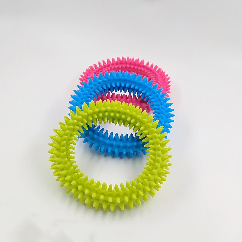 Image 3 - New Spiky Sensory Tactile Ring Children Autism Therapy Massage Bracelet Fidget Adult Sensory Toys Reduce Stress Children Gifts-in Gags & Practical Jokes from Toys & Hobbies