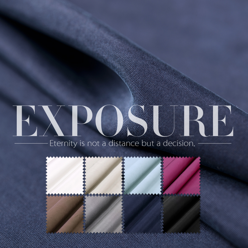 Solid Color Sand Wash Silk Electric Spinning Fabric 20mm