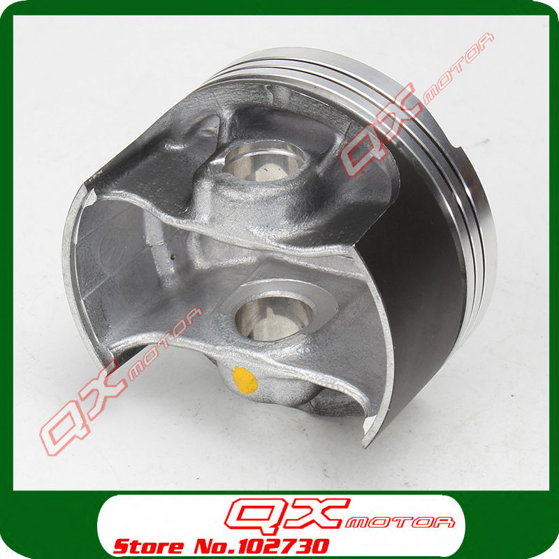 Zongshen NC250 Piston kit ZS177MM Engine NC250 Piston kit KAYO T6 BSE J5  xmotos 250cc 4 valves Engine parts Free shipping -in Pistons & Rings from