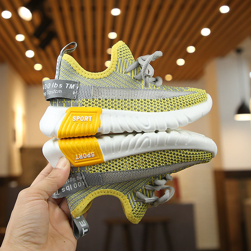 Casual Fashion Breathable Knit Slip Wear Sneakers 4