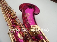 Wholesale Direct Selling France Copy Henri Selmer Tenor Saxophone Instruments Reference 36 Pink