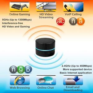 Image 3 - 1750Mbps אלחוטי USB WiFi מתאם, USB3.0 אלחוטי רשת WiFi Dongle תמיכת Windows XP/Vista/Win7/8/8.1/10/Mac OS 10.4 10.13