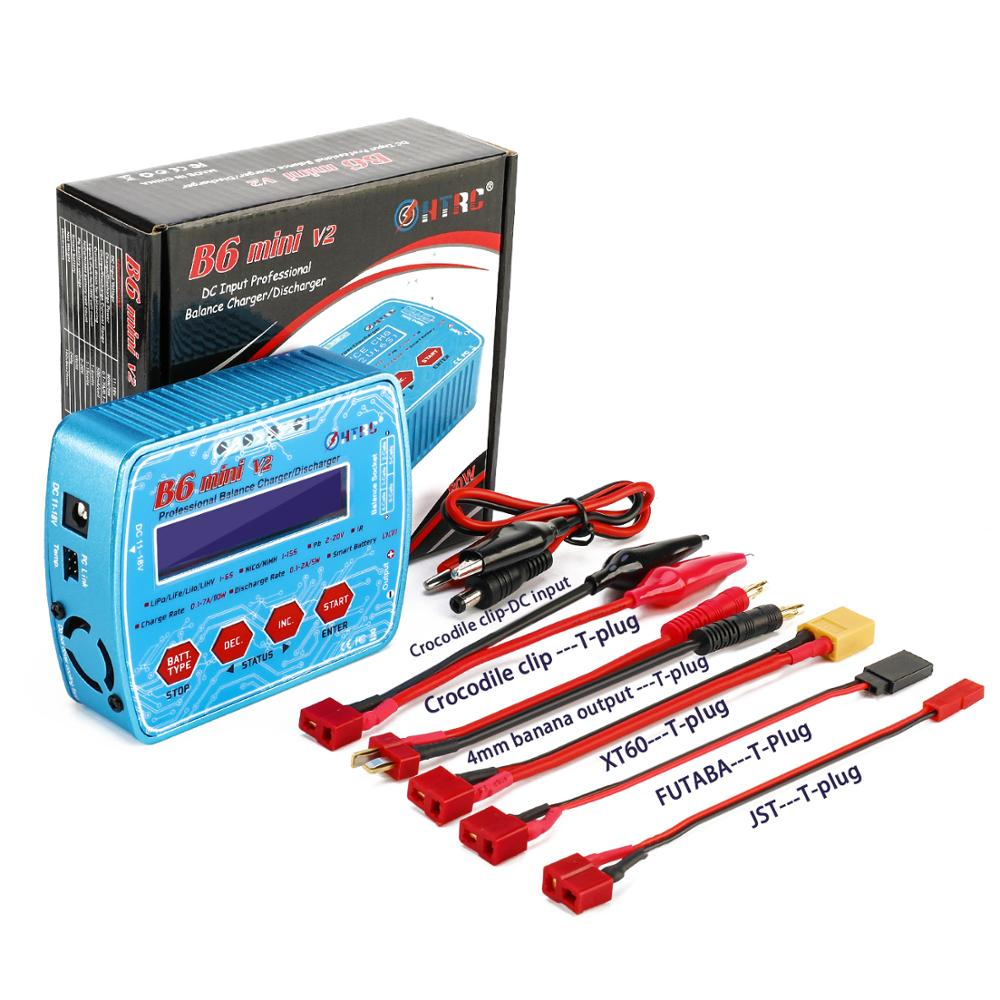 iMAX B6 Mini V2 80W 7A Professional Digital RC Model Balance Charger Discharger for Lipo Lihv LiIon LiFe NiCd NiMH Battery HTRC Multan
