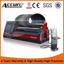 CNC three roller hydraulic plate rolling machine plate bending machine drawing