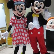 Маскарадный костюм Микки Мауса; нарядные Вечерние платья на Хэллоуин; карнавал; День рождения; нарядное платье